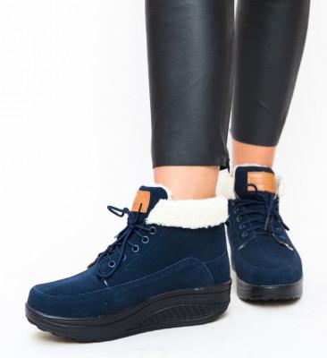 Pantofi Casual Blind Bleumarin