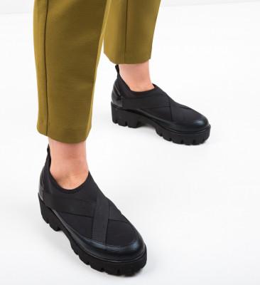 Pantofi Casual Buse Negri