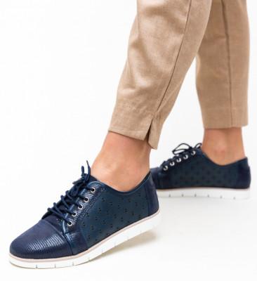 Pantofi Casual Clegg Bleumarin