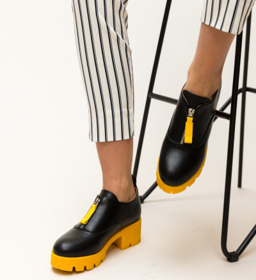 Pantofi Casual Corola Galbeni