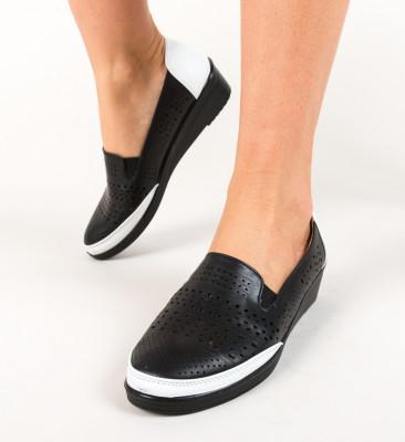 Pantofi Casual Crimen Negri