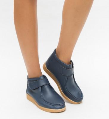 Pantofi Casual Debir Albastri 2