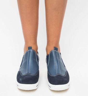 Pantofi Casual Forst Bleumarin