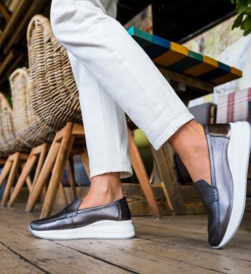 Pantofi Casual Gilles Gri