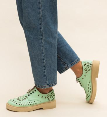 Pantofi Casual Grecos Turcoaz