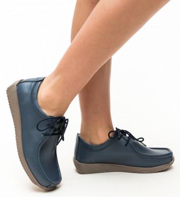 Pantofi Casual Helvetic Bleumarin 2