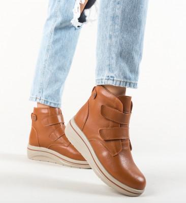 Pantofi Casual Jabal Camel