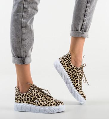 Pantofi Casual Jona Leopard