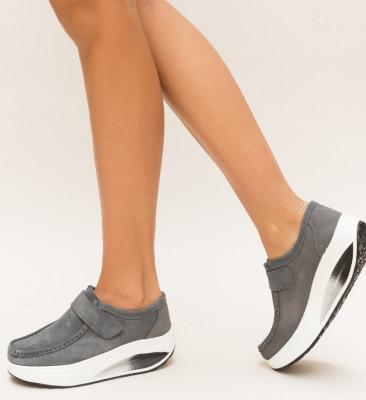 Pantofi Casual Juko Gri