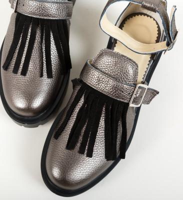 Pantofi Casual Kajah Gri