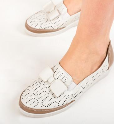 Pantofi Casual Kimono Bej