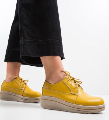 Pantofi Casual Lionata Galbeni