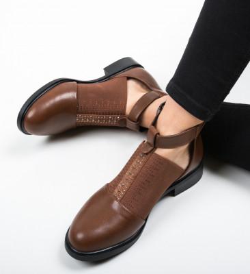 Pantofi Casual Loreta Maro