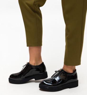 Pantofi Casual Lukoni Negri 5