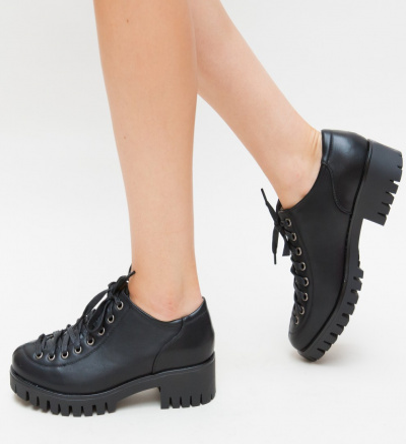 Pantofi Casual Molin Negri