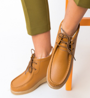 Pantofi Casual Munela Camel