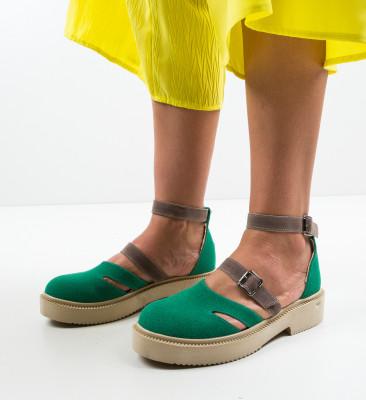 Pantofi Casual Nitrat Verzi