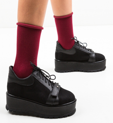 Pantofi Casual Okila Negri