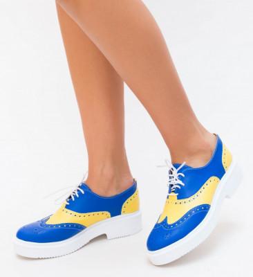 Pantofi Casual Oxi Albastri