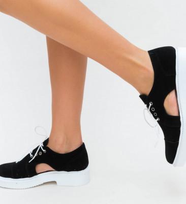 Pantofi Casual Pepi Negri