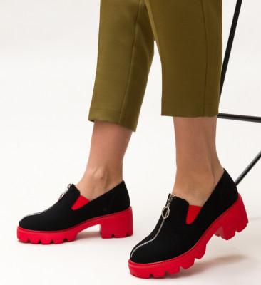 Pantofi Casual Polly Rosii