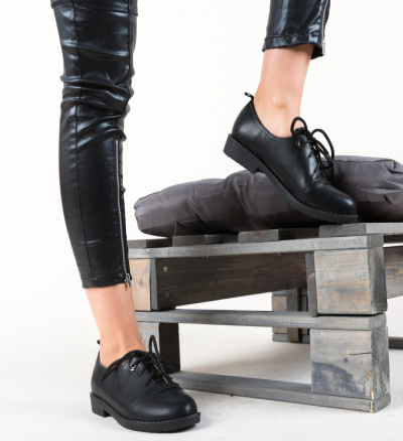 Pantofi Casual Riggs Negri