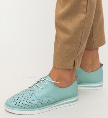 Pantofi Casual Rofrel Turcoaz
