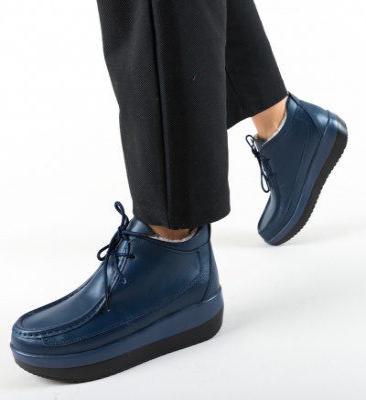 Pantofi Casual Ryhko Bleumarin