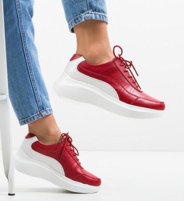 Pantofi Casual Saha Rosii