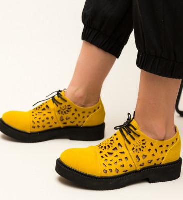 Pantofi Casual Siria Galbeni