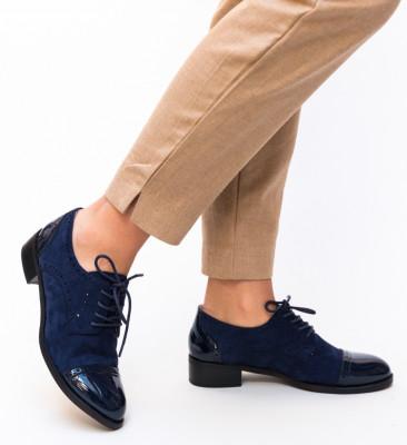 Pantofi Casual Tahir Bleumarin