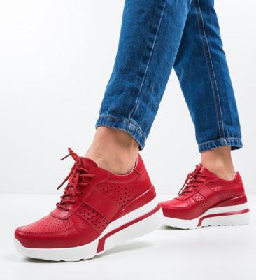 Pantofi Casual Viop Rosii