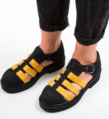 Pantofi Casual Wopka Negri