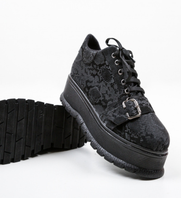 Pantofi Casual Ysrael Negri 2