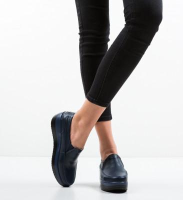 Pantofi Casul Freeman Bleumarin