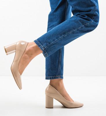 Pantofi Cilio Bej
