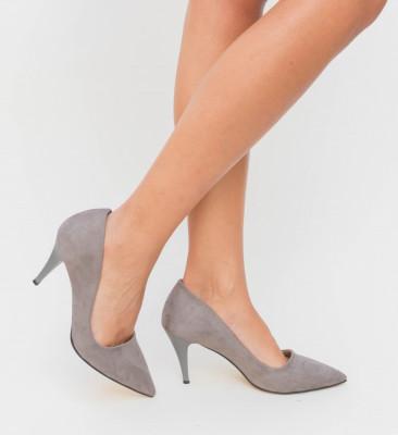 Pantofi Claus Gri