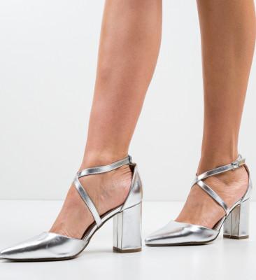 Pantofi Dasibas Argintii
