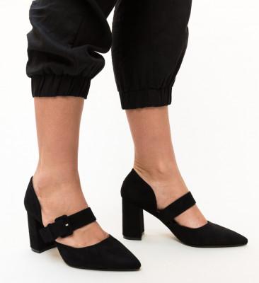 Pantofi Dionne Negri