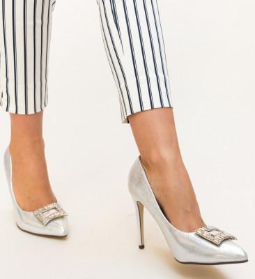 Pantofi Dylon Argintii
