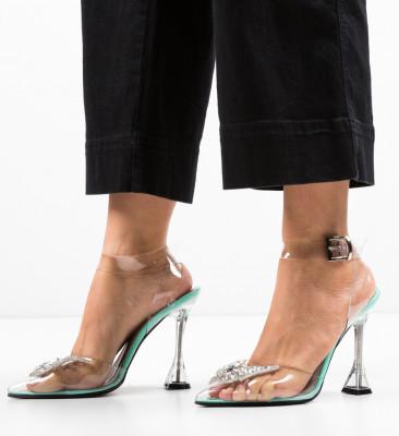 Pantofi Enva Turcoaz