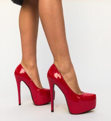 Pantofi Evie Rosii