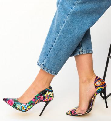 Pantofi Fifi Negri