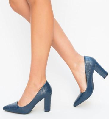 Pantofi Franc Albastri