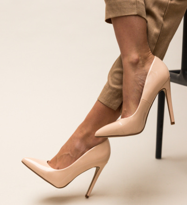 Pantofi Glen Bej