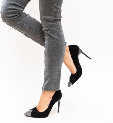 Pantofi Hamo Gri