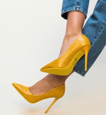 Pantofi Lolo Galbeni