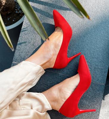 Pantofi Mackie Rosii