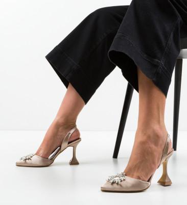 Pantofi Manona Bej