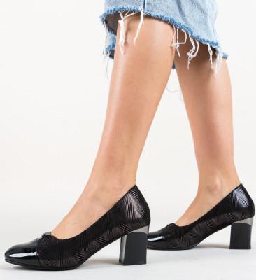 Pantofi Munro Negri